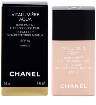 Chanel Vitalumière Aqua base ultra leve para uma pele radiante