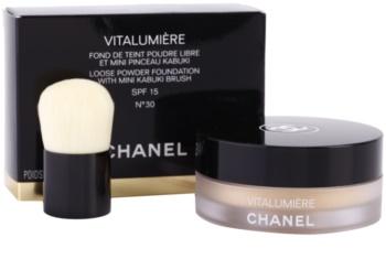 Chanel Vitalumière pudra cu pensula