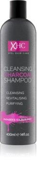 Charcoal Face and Body šampon s aktivními složkami uhlí bez obsahu sulfátů