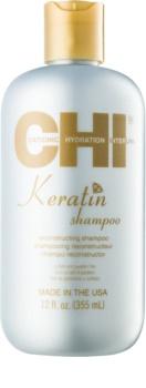 CHI Keratin Shampoo mit Keratin für trockenes und ungeschmeidiges Haar