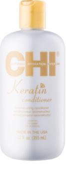 CHI Keratin après-shampoing à la kératine pour cheveux secs et indisciplinés