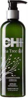 CHI Tea Tree Oil condicionador refrescante para cabelo e couro cabeludo oleosos