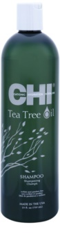 CHI Tea Tree Oil sampon zsíros hajra és fejbőrre