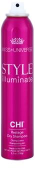 CHI Style Illuminate Miss Universe száraz sampon a  felesleges faggyú felszívódásáért és a haj frissítéséért
