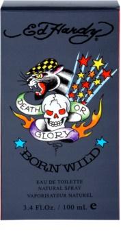 Christian Audigier Ed Hardy Born Wild Eau de Toilette für Herren 100 ml