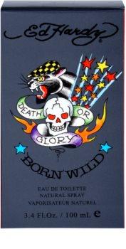 Christian Audigier Ed Hardy Born Wild Eau de Toilette Herren 100 ml