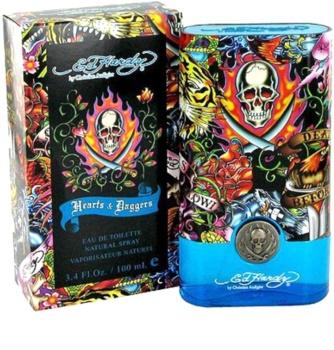 Christian Audigier Ed Hardy Hearts & Daggers for Him eau de toilette férfiaknak 100 ml