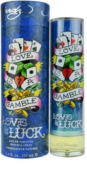 Christian Audigier Ed Hardy Love & Luck Man toaletní voda pro muže 100 ml