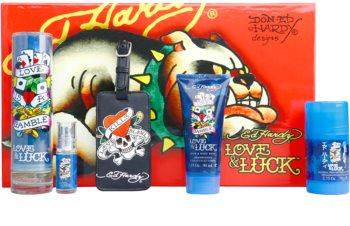 Christian Audigier Ed Hardy Love & Luck Man confezione regalo I