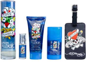 Christian Audigier Ed Hardy Love & Luck Man Geschenkset I.