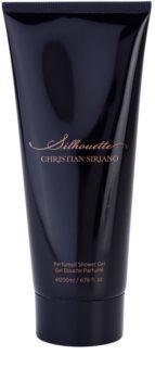 Christian Siriano Silhouette gel de ducha para mujer 200 ml