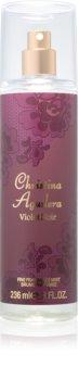 Christina Aguilera Violet Noir telový sprej pre ženy 236 ml