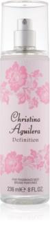 Christina Aguilera Definition tělový sprej pro ženy 236 ml