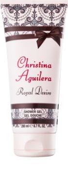 Christina Aguilera Royal Desire sprchový gel pro ženy 200 ml