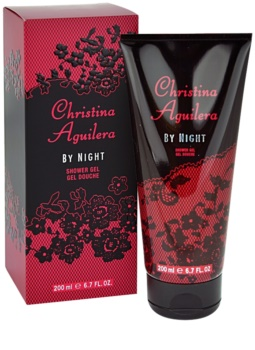 Christina Aguilera By Night sprchový gel pro ženy 200 ml