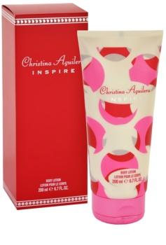Christina Aguilera Inspire lapte de corp pentru femei 200 ml