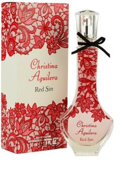 Christina Aguilera Red Sin Parfumovaná voda pre ženy 50 ml