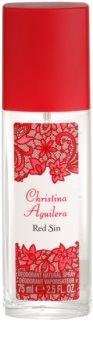 Christina Aguilera Red Sin deodorant s rozprašovačom pre ženy 75 ml