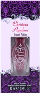 Christina Aguilera Secret Potion eau de parfum nőknek 15 ml