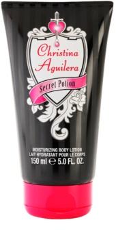 Christina Aguilera Secret Potion telové mlieko pre ženy 150 ml
