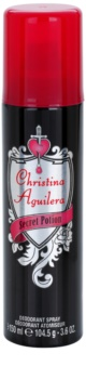 Christina Aguilera Secret Potion Deo Spray voor Vrouwen  150 ml