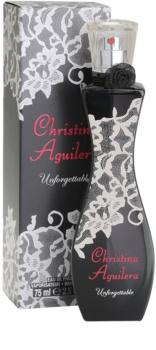 Christina Aguilera Unforgettable eau de parfum pentru femei 75 ml