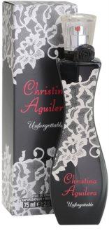Christina Aguilera Unforgettable eau de parfum per donna 75 ml