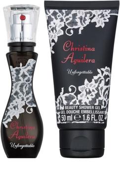 Christina Aguilera Unforgettable confezione regalo I.
