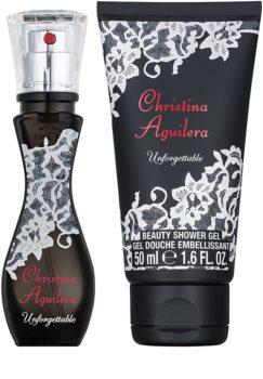 Christina Aguilera Unforgettable darčeková sada I.