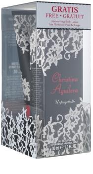 Christina Aguilera Unforgettable confezione regalo II