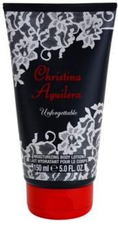 Christina Aguilera Unforgettable lotion corps pour femme 150 ml