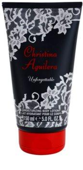 Christina Aguilera Unforgettable telové mlieko pre ženy 150 ml