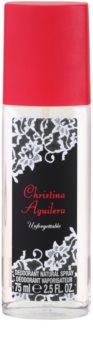 Christina Aguilera Unforgettable deodorante con diffusore per donna 75 ml