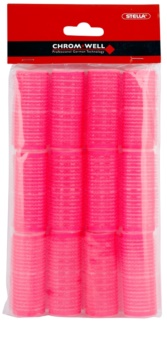 Chromwell Accessories Pink Velcro Rollers