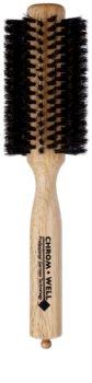 Chromwell Brushes Natural Bristles cepillo para el cabello