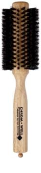 Chromwell Brushes Natural Bristles escova de cabelo