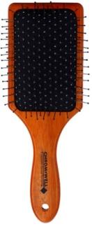 Chromwell Brushes Dark Wood escova de cabelo