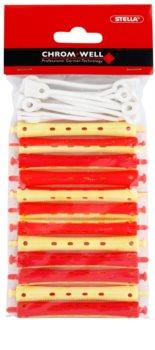 Chromwell Accessories Red/Yellow Haarwickler für Dauerwelle