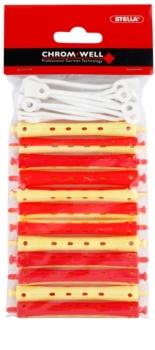 Chromwell Accessories Red/Yellow lokówki do trwałej