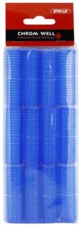 Chromwell Accessories Blue rolos de caracóis estreitos