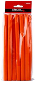 Chromwell Accessories Orange dlhé menové papiloty