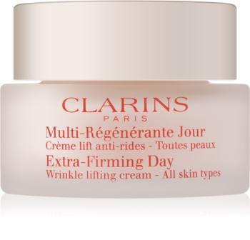 Clarins Extra-Firming creme de dia para rugas para todos os tipos de pele