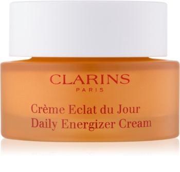 Clarins Daily Energizer dnevna posvetlitvena krema z vlažilnim učinkom za normalno in suho kožo