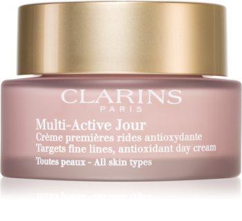 Clarins Multi-Active crema antioxidante de día  para las primeras señales de envejecimiento de la piel