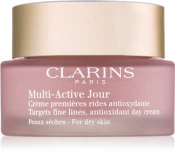 Clarins Multi-Active antioksidacijska dnevna krema za suho kožo