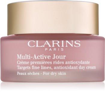 Clarins Multi-Active antioxidačný denný krém pre suchú pleť