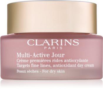 Clarins Multi-Active crema antioxidante de día  para pieles secas