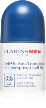 Clarins Men Body кульковий антиперспірант без алкоголя