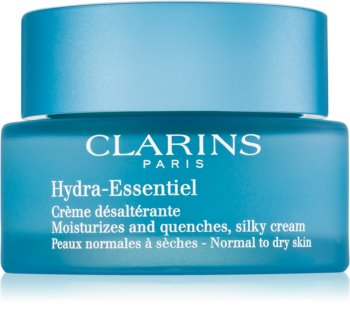 Clarins Hydra-Essentiel crema idratante delicata effetto seta per pelli normali e secche