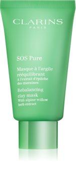 Clarins SOS Pure Klei Masker  voor Gemengd tot Vette Huid